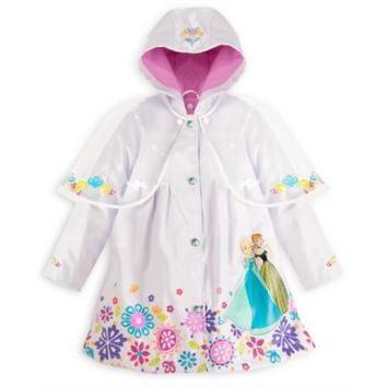 Frozen Rain Jacket For Kids | Disney Store