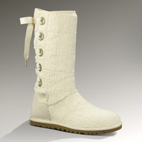UGG® Heirloom Lace Up Boots for Women | Heirloom Weave Lace Up Fashion Boots at UGGAustralia.com