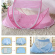 Spring Winter 0-3Years Baby Bed Portable Foldable Baby Crib With Netting Newborn Sleep Bed Travel Bed Baby 100%Cotton