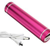 Power Bank 3000mAh Pink