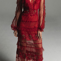 Floral Lace Dress | Moda Operandi