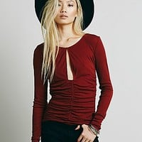 Intimately Womens Delta Date Layering Top
