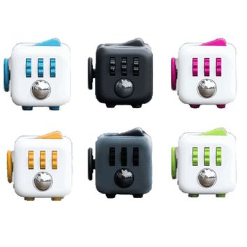 11 colors Original Fidget Cube a vinyl desk toy Fidget anti irritability toy magic