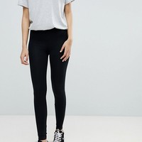 Miss Selfridge leggings in black at asos.com