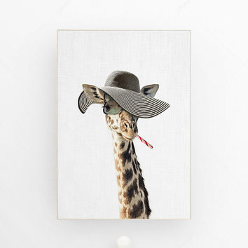 Giraffe print safari animal giraffe art nursery decor animal art giraffe wall art animal print african animal animal poster nursery wall art
