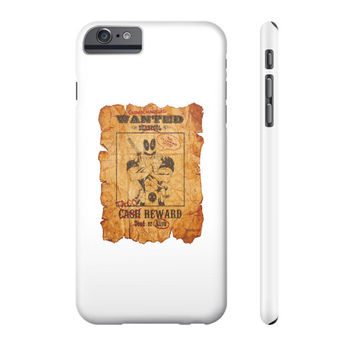 Deadpool Wanted Poster Phone Case