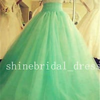 New Stock Quinceanera Dresses Prom Formal Bridesmaid Gowns SZ 4-6-8-10-12-14-16