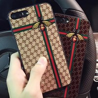 GUCCI Toughened glass phone case shell  for iphone 6/6s,iphone 6p/6splus,iphone 7/8,iphone 7p/8plus, iphonex