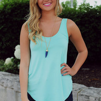 Give Me Summer Tank - Mint