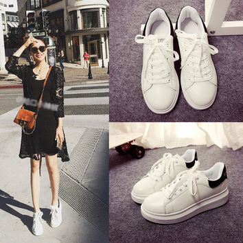 Comfort Stylish Hot Sale Hot Deal Casual On Sale Thick Crust Summer Star Shoes Flat Round-toe Sneakers [9448881223]
