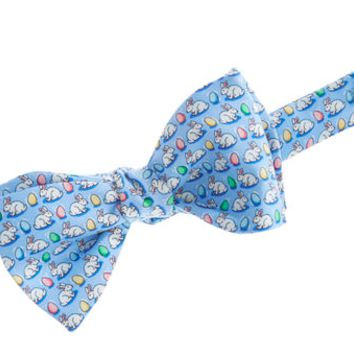 Vineyard Vines Bow Tie- Bunny and Egg- Light Blue