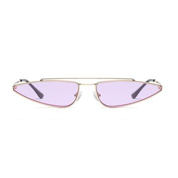 Slim Shady Retro Sunglasses | Purple