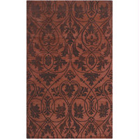 Area Rug - Red Clay, Espresso, Terra Cotta