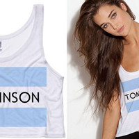 Tomlinson One Direction Cropped Tank Top