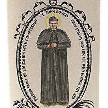 St Bosco for Education with Compassion 20 oz Soy Scented Prayer Candle