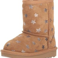 UGG Kids' T Classic Short II Stars Pull-on Boot