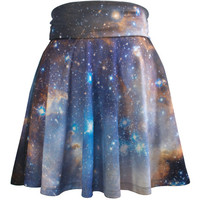 Sagan Galaxy Skirt, Reversible Stripes