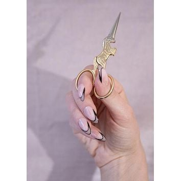 Golden Unicorn Mini Scissors