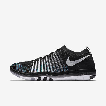 The Nike Free Transform Flyknit Women's Training Shoe.