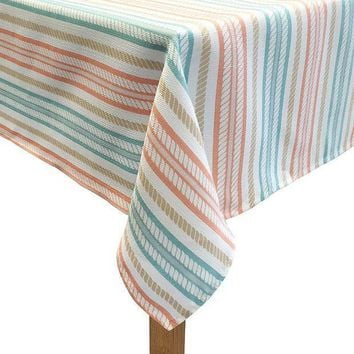 Colordrift The Ropes Tablecloth (orange)