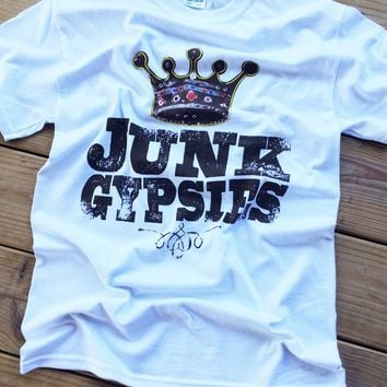 junk gypsies tee-white