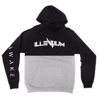Illenium Awake Cut Hoodie / Black Top