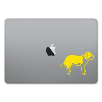 Saint Bernard Sticker for MacBooks and Apple Devices