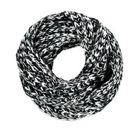 Two-Tone Infinity Scarf