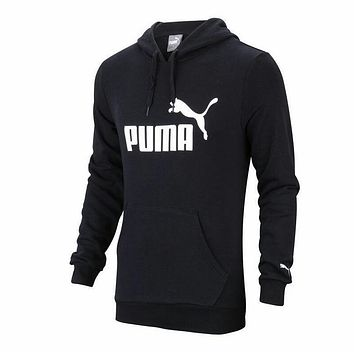 Puma Students with leisure sports coat cashmere sweater thick warm coat male