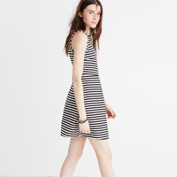 Afternoon Dress in Stripe : shopmadewell AllProducts   Madewell