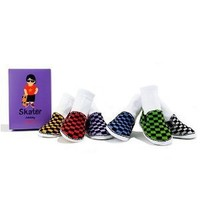 Trumpette Skater Johnny Sock Set, 6 Pairs Assorted, 0-12 months