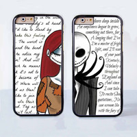 The Nightmare Before Christmas Together Forever Love Couple Case for Apple iPhone 6 Plus 4 4s 5 5s 5c 6
