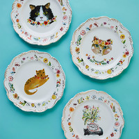 Thank Meow Later Plate Set
