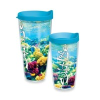 Tervis® Salt Life® Coral Reef Wrap Tumbler with Blue Lid