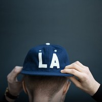 Los Angeles Angels 1954 Strapback Cap by Ebbets Field Flannels - $50