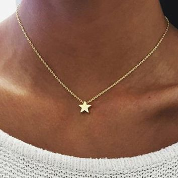 Jewellery & Watches Women Birth Stone Lucky Stone Double Layer Choker Necklace Stainless Steel Rolo Cable Chain Jewelry Kolye Female Gift Necklace Choice Materials