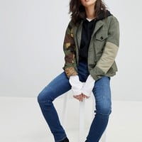 G-Star Camoflage Combat Jacket at asos.com