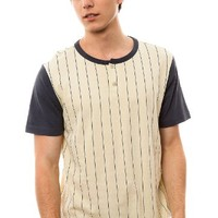 RVCA Men's The Ellis Henley Tee