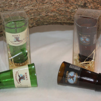 Shot Glass Upcycled From Yuengling Beer Bottle, Upcycled Shot Glass, Unique Shot Glass