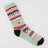 Stance Turtle Dove Womens Socks Seafoam One Size For Women 24854752401