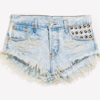 450 Stoner Love Studded Babe Shorts