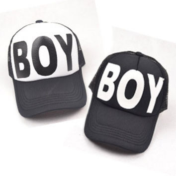 Letter Baseball Caps Men Cap