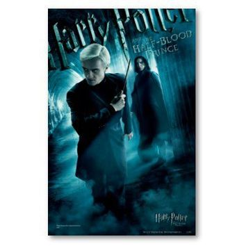 Draco Malfoy and Snape 1 Poster from Zazzle.com