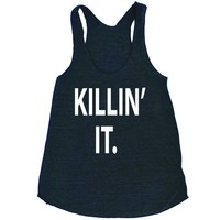 Killin It Women's Triblend Workout Tank