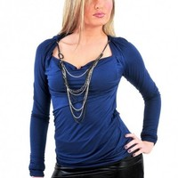 Cowl Necklace Top - Diva Hot Couture