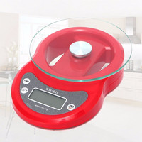 Newest Style 7kg 7000g/1g Digital LCD Electronic Kitchen Food Diet Postal Weight Baking Scale Red Kitchen Gadget
