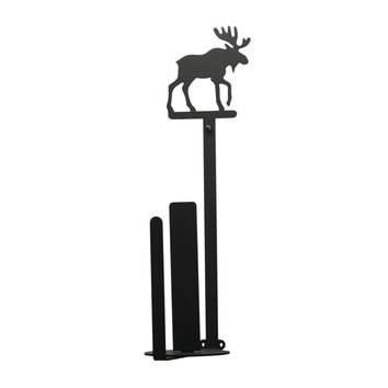 Moose Paper - Paper Towel Holder Holder Vertical Wall Mount