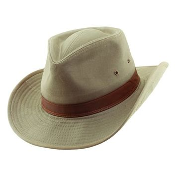 Men's Dorfman Pacific Cotton Outback Hat