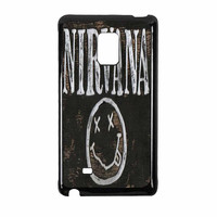 Nirvana Wood Sign Art Samsung Galaxy Note Edge Case