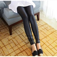 Leather Skinny Leggings